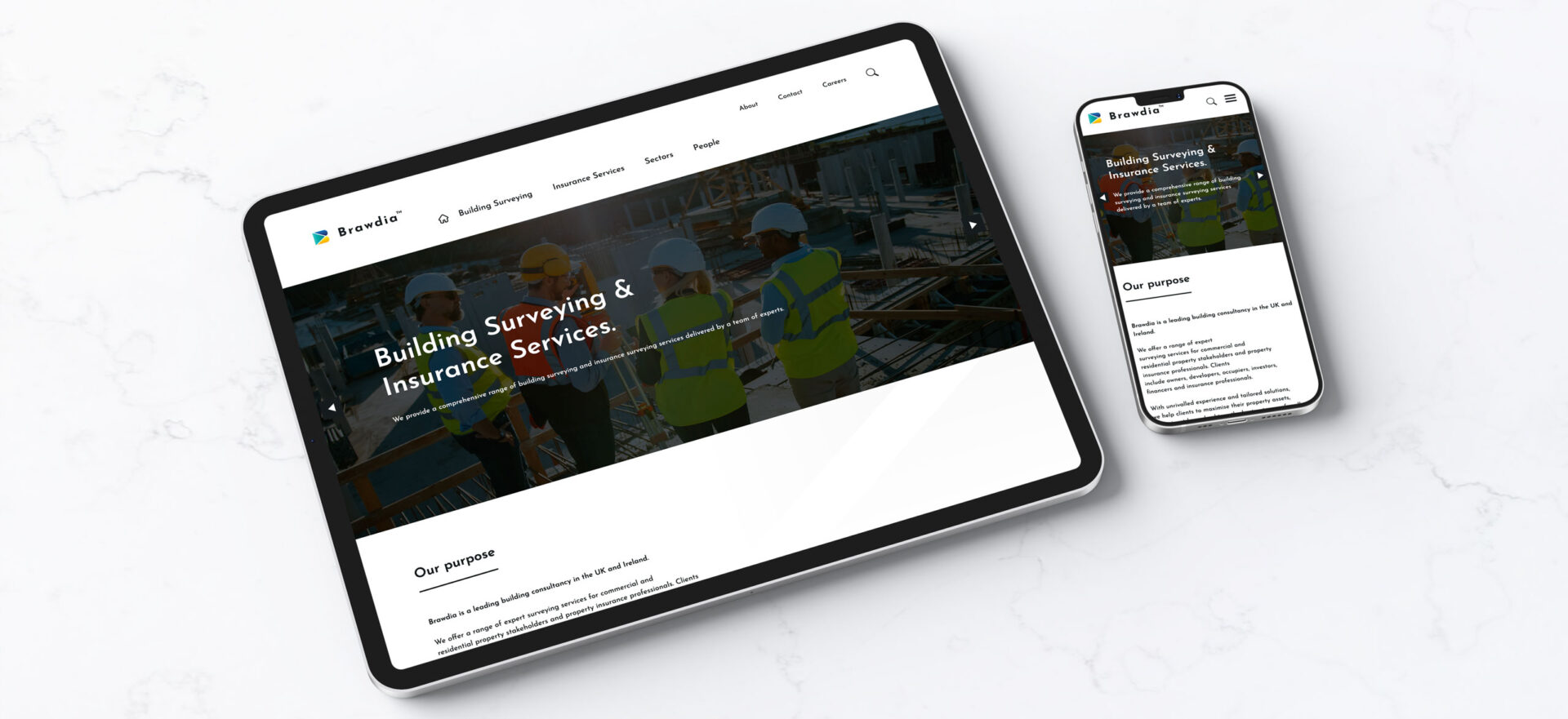 Brawdia Website Devices