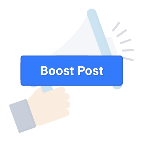facebook boost button