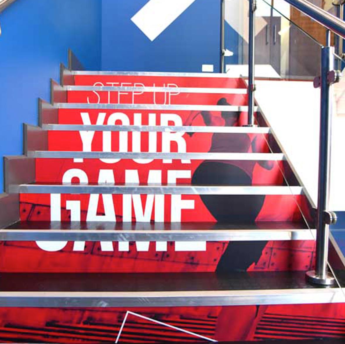 Glogym stairs graphics