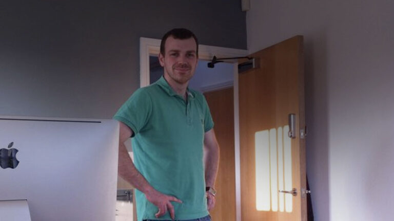 David at our old office on high street lees