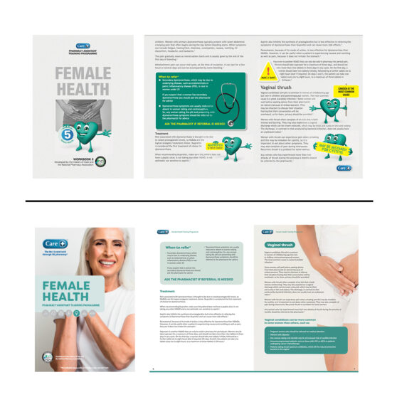 Preview of Care training guides