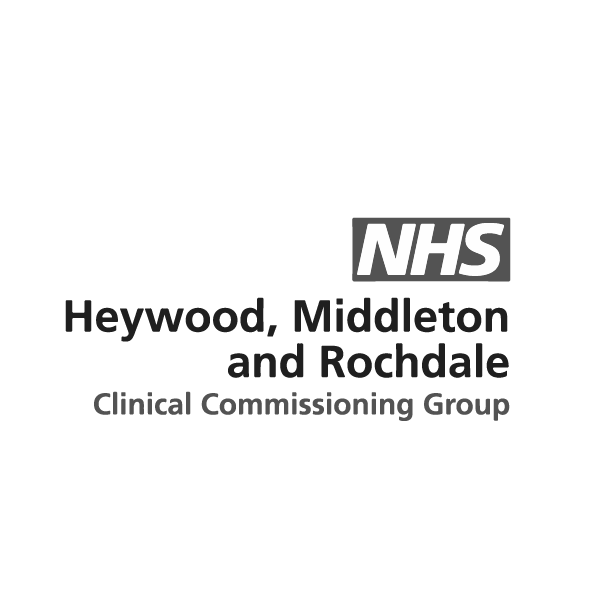 NHS Haywood, Middleton and Rochdale CCG logo