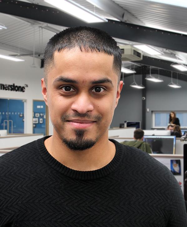 Mo ALi - Junior beb developer at Cornerstone